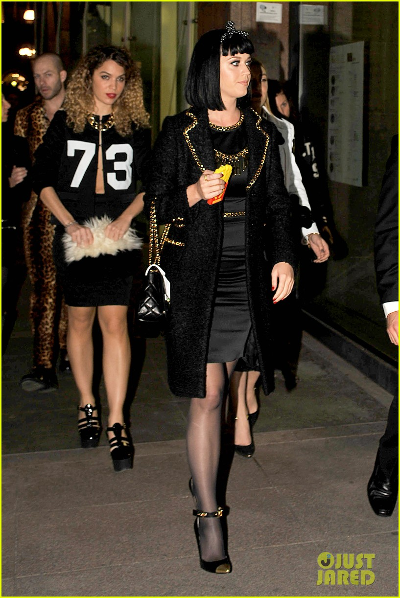 katy perry rita ora walk runway in moschino fashion show 243057405