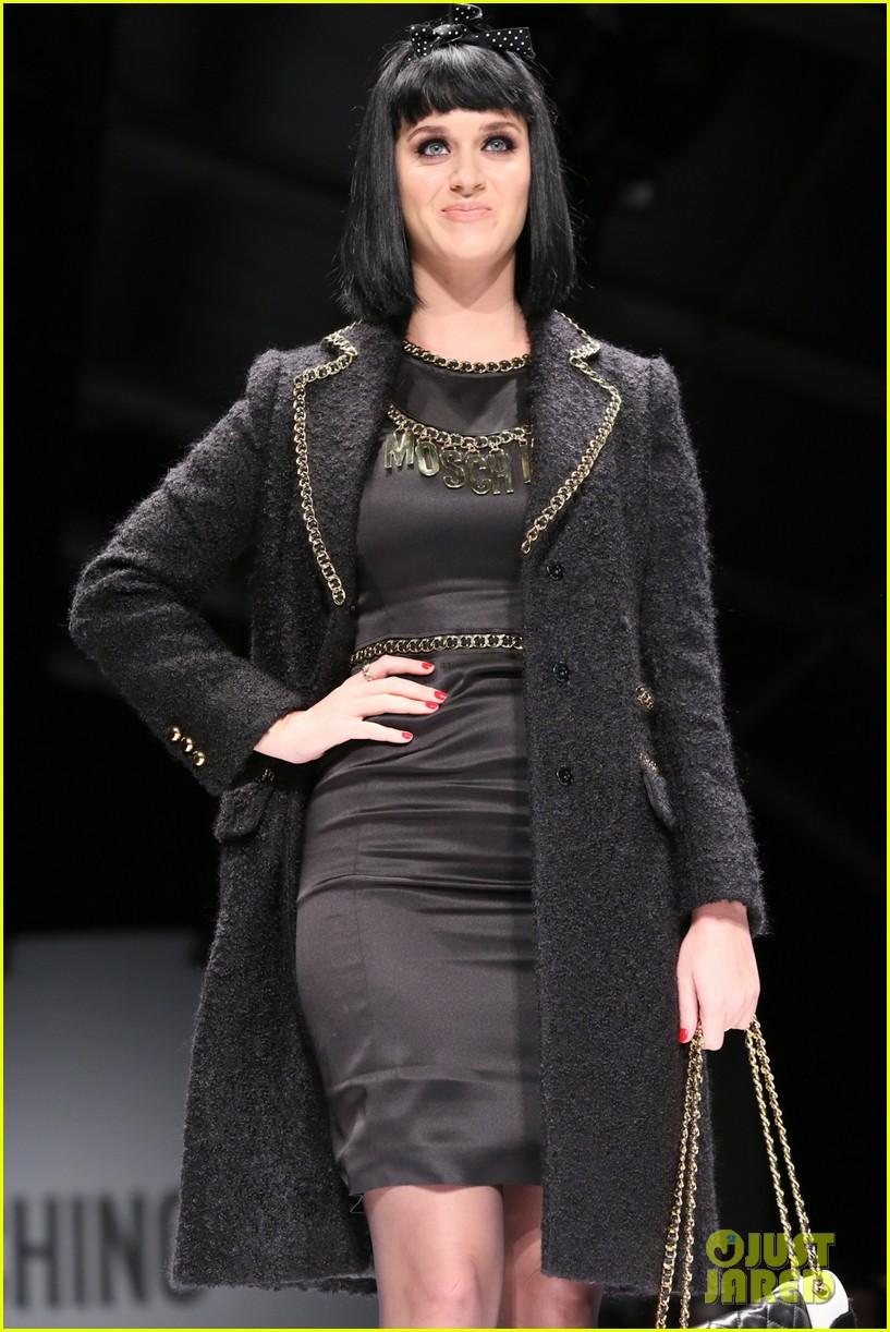 katy perry rita ora walk runway in moschino fashion show 313057412