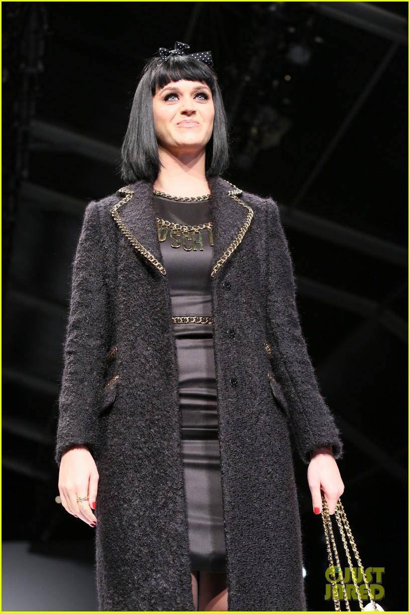 katy perry rita ora walk runway in moschino fashion show 323057413