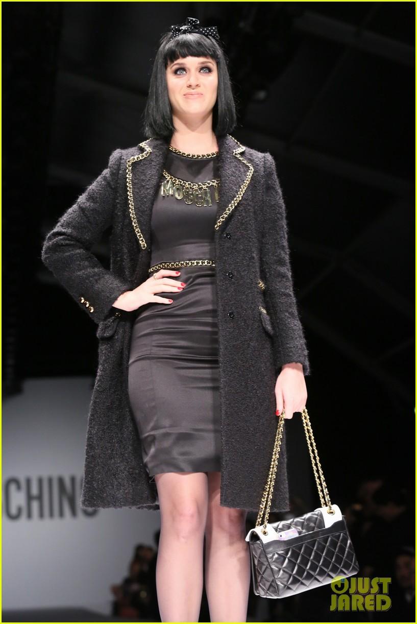 katy perry rita ora walk runway in moschino fashion show 363057417