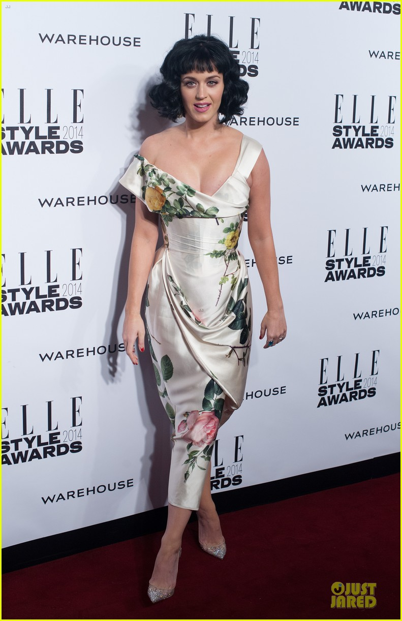 katy perry woman of the year honoree at elle style awards 2014 033055787