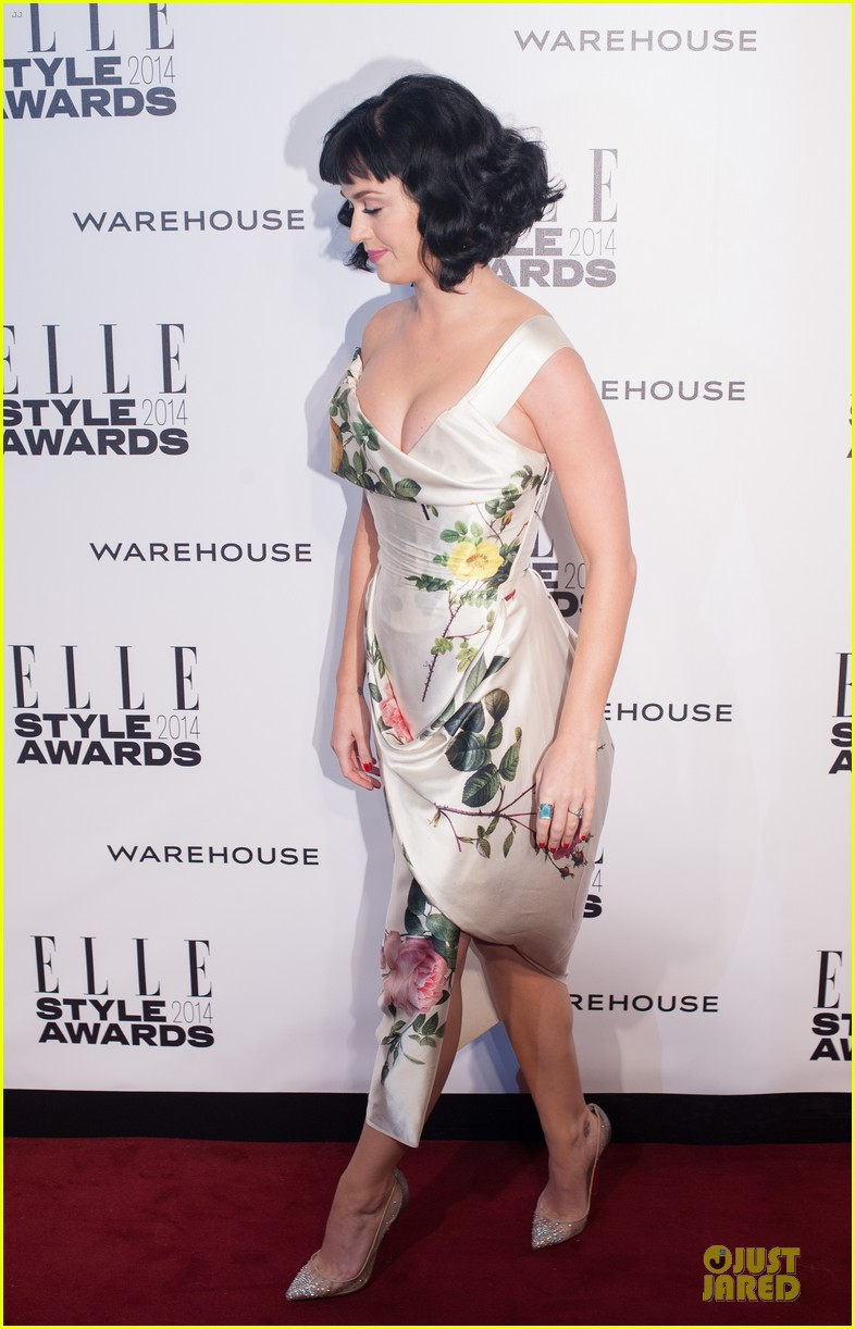 katy perry woman of the year honoree at elle style awards 2014 073055791