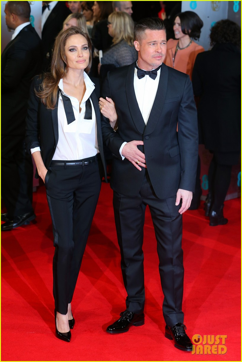 brad pitt wins best film at baftas 2014 watch video here 143054708