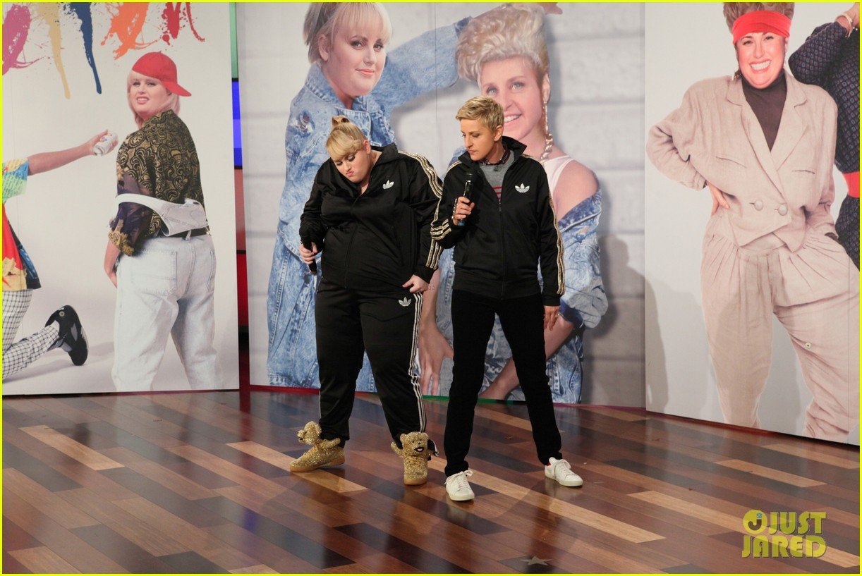 rebel wilson ellen degeneres aka rebellen rap cats on the internet video 013055607