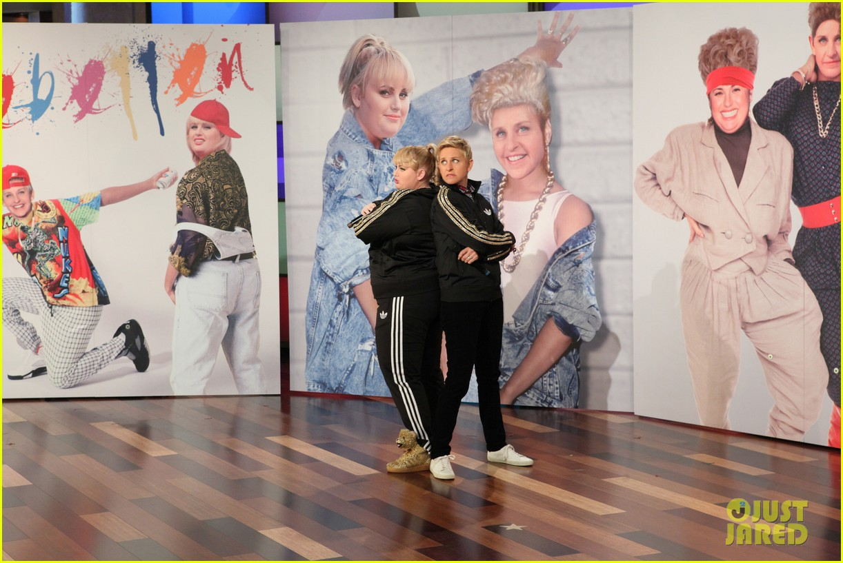 rebel wilson ellen degeneres aka rebellen rap cats on the internet video 033055609