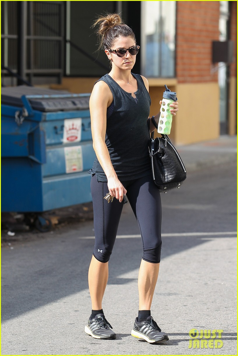 nikki reed keeps in shape with daily workout 133060906