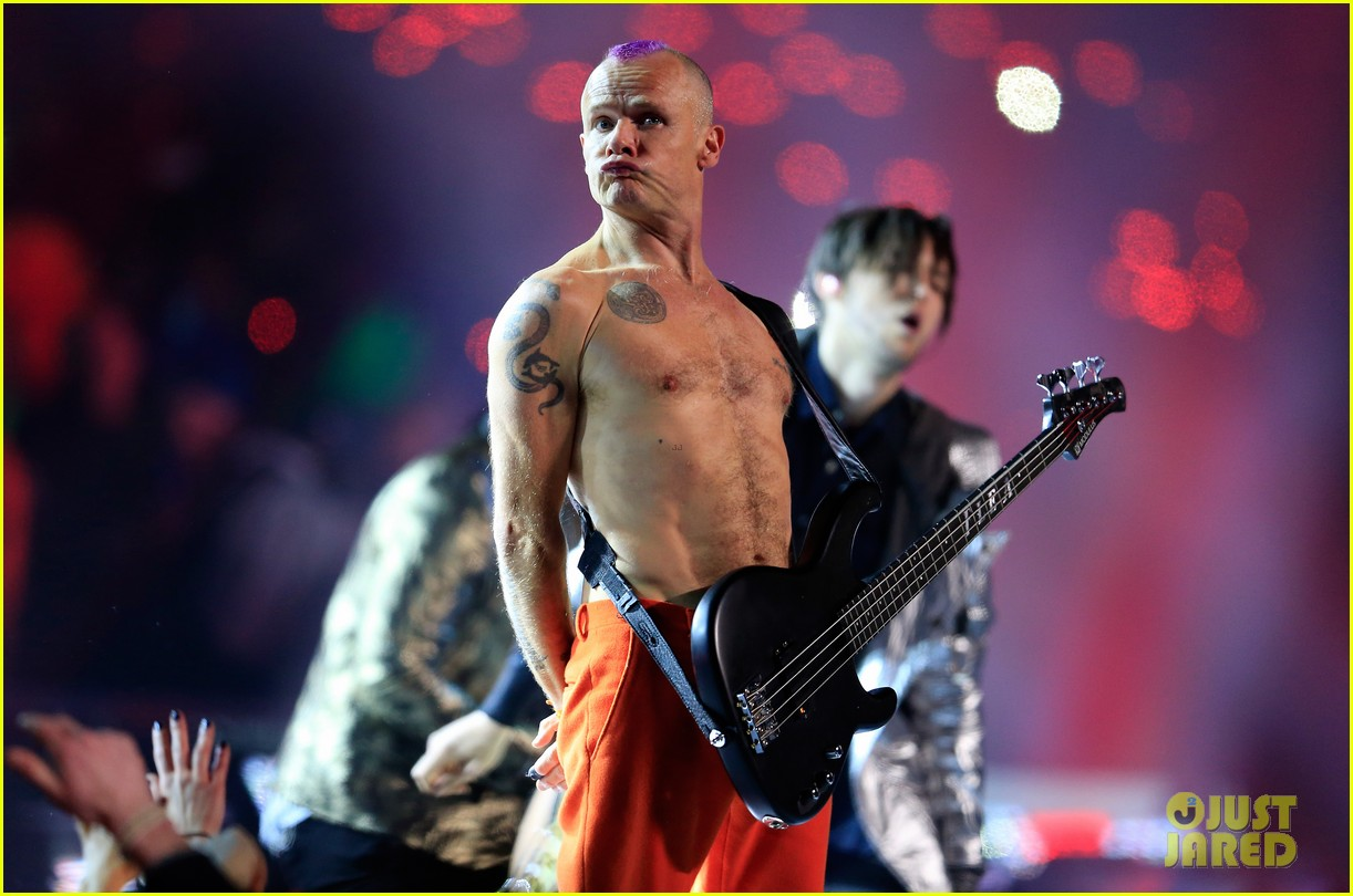 red hot chili peppers super bowl halftime show 2014 video 023046566