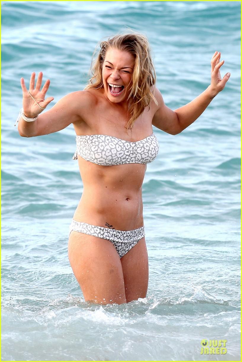 leann rimes rocks white bikini on super bowl sunday 043046622