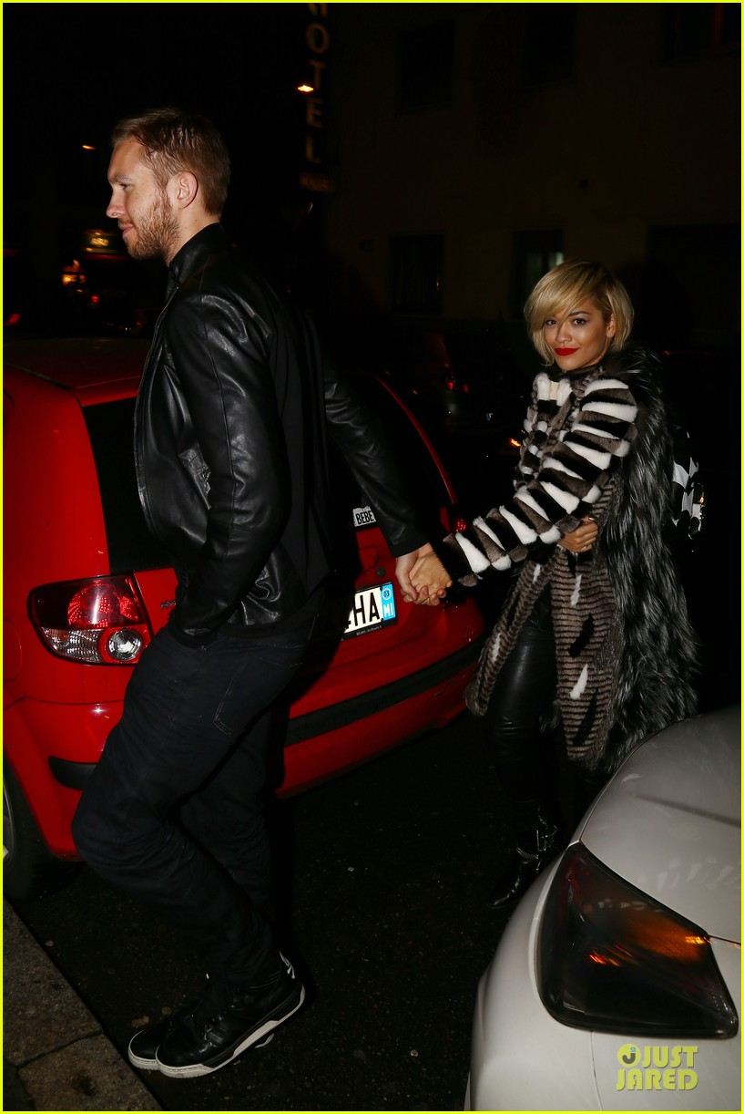 rita ora calvin harris italian dinner date at giacomo restaurant 033058528