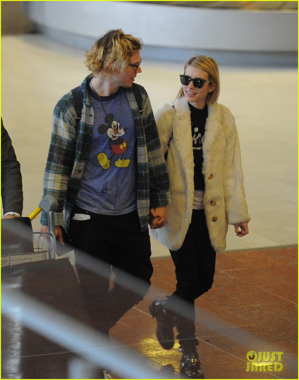 emma roberts evan peters touchdown in paris 053060879