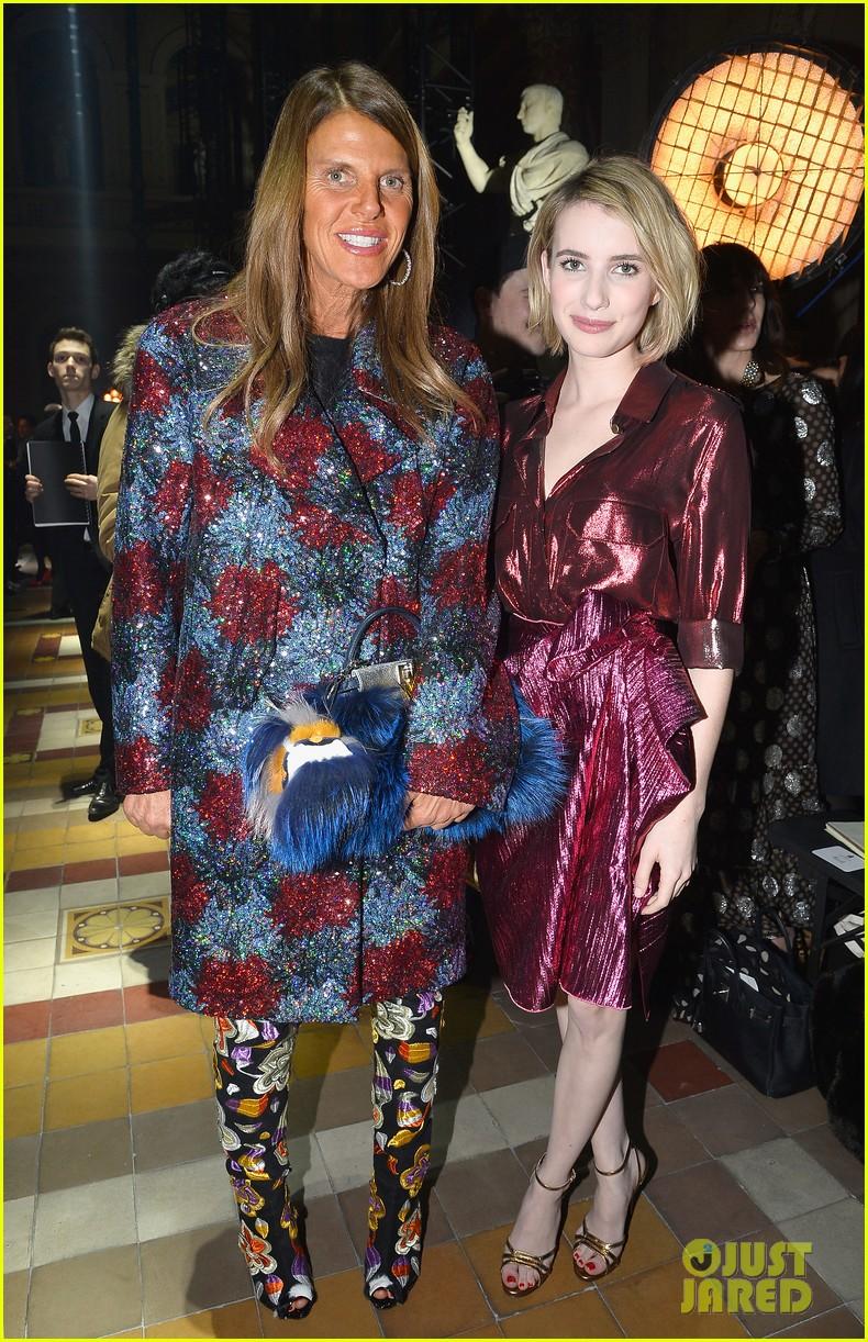 emma roberts evan peters skip oscars madness for paris fashion week fun 033061788