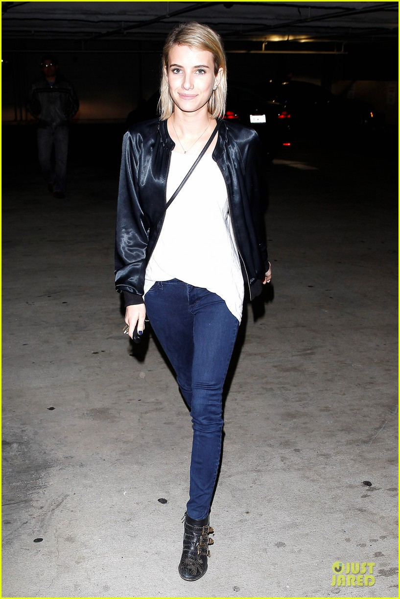 emma roberts toasts 23rd birthday with evan peters 223051175