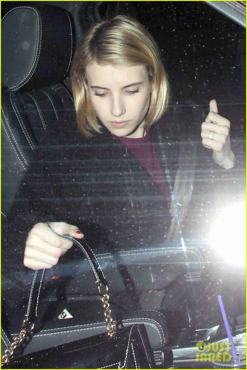 emma roberts fiance evan peters thought i was so weird 083047332