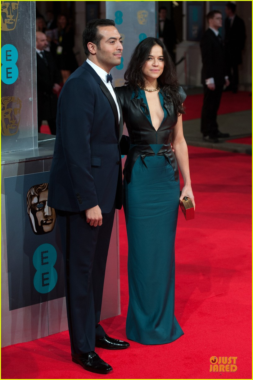 michelle rodriguez baftas 2014 red carpet 023054574
