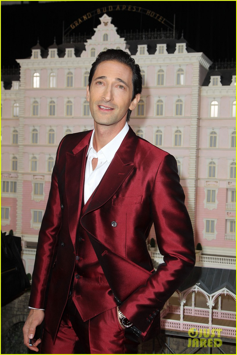 saoirse ronan adrien brody grand budapest hotel premiere 023061211