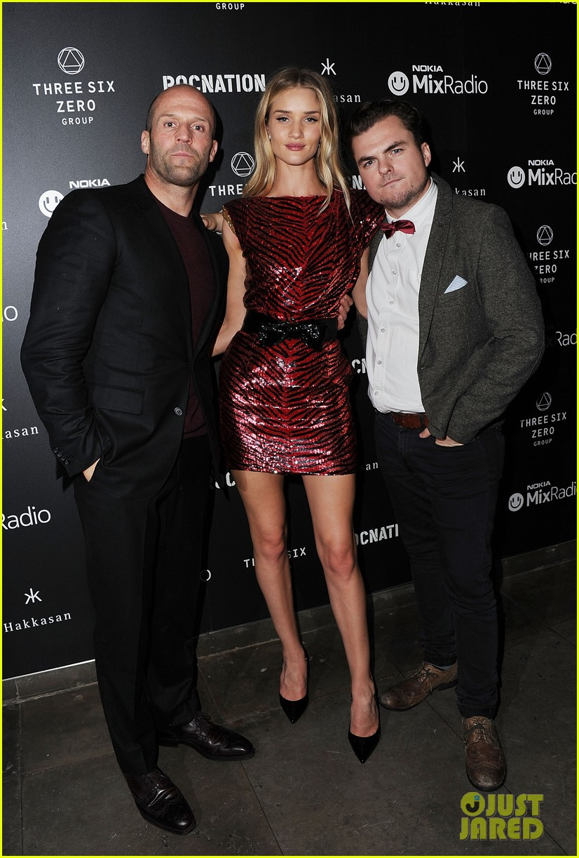 jason statham joins rosie huntington whiteley at brits party 013056849