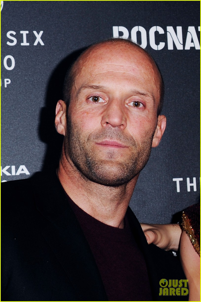 jason statham joins rosie huntington whiteley at brits party 043056852
