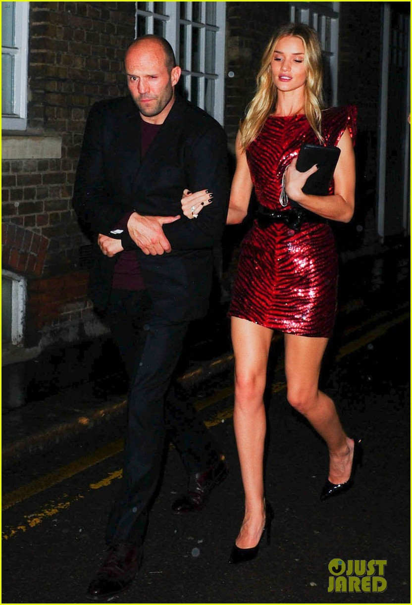 jason statham joins rosie huntington whiteley at brits party 063056854