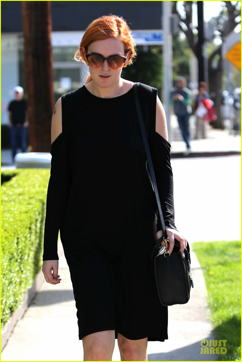rumer willis rocks lighter hair at andy lecompte salon 233053534