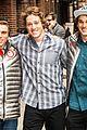 keri russell meets olympian gus kenworthy at letterman 06