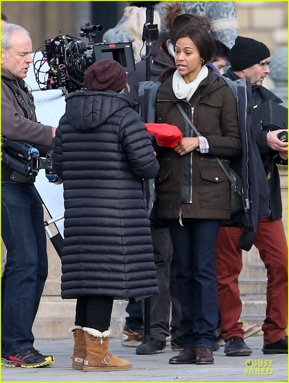 zoe saldana bundled for rosemary baby set 203045319