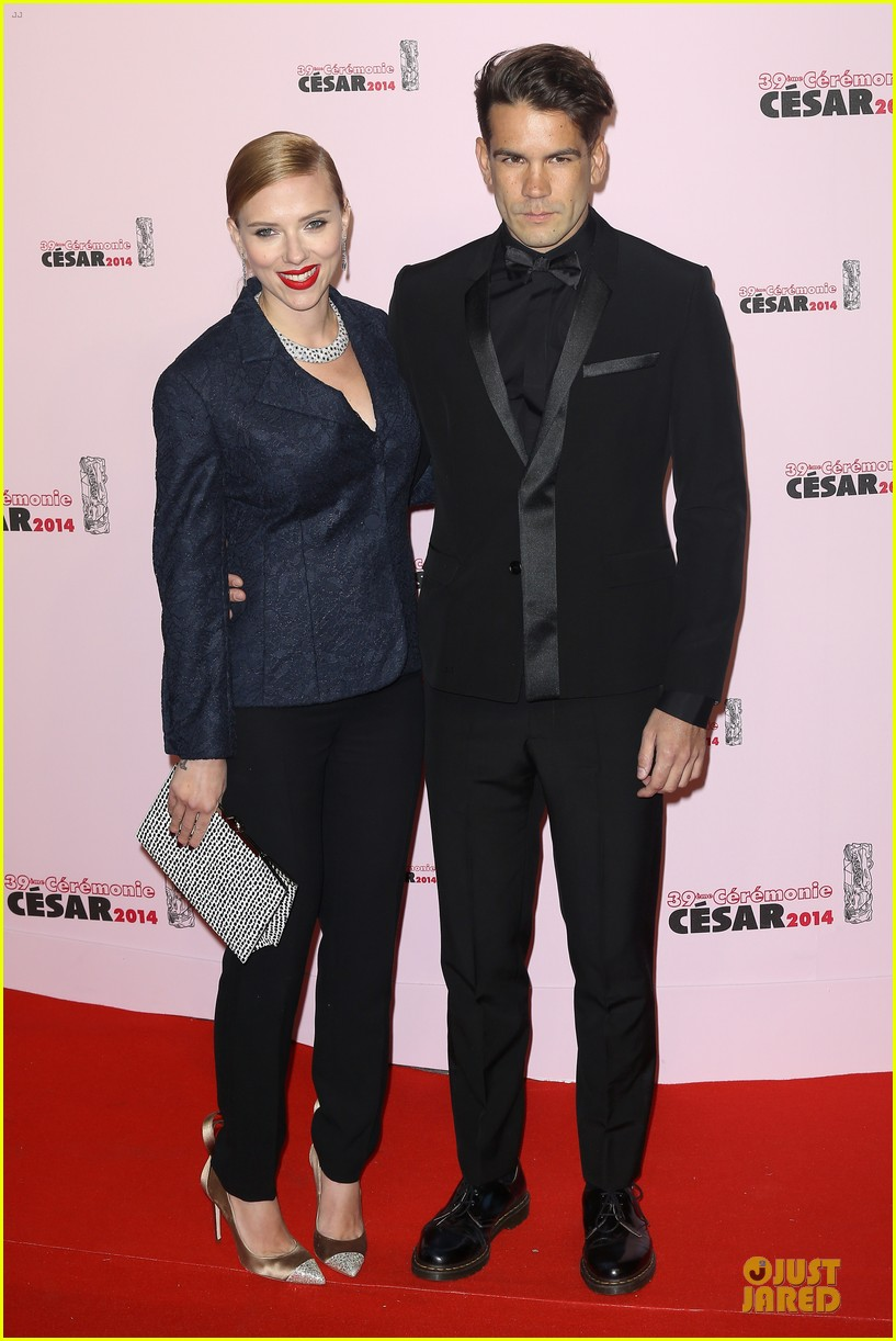 honoree scarlett johansson brings romaine dauriac for cesar awards 033062460