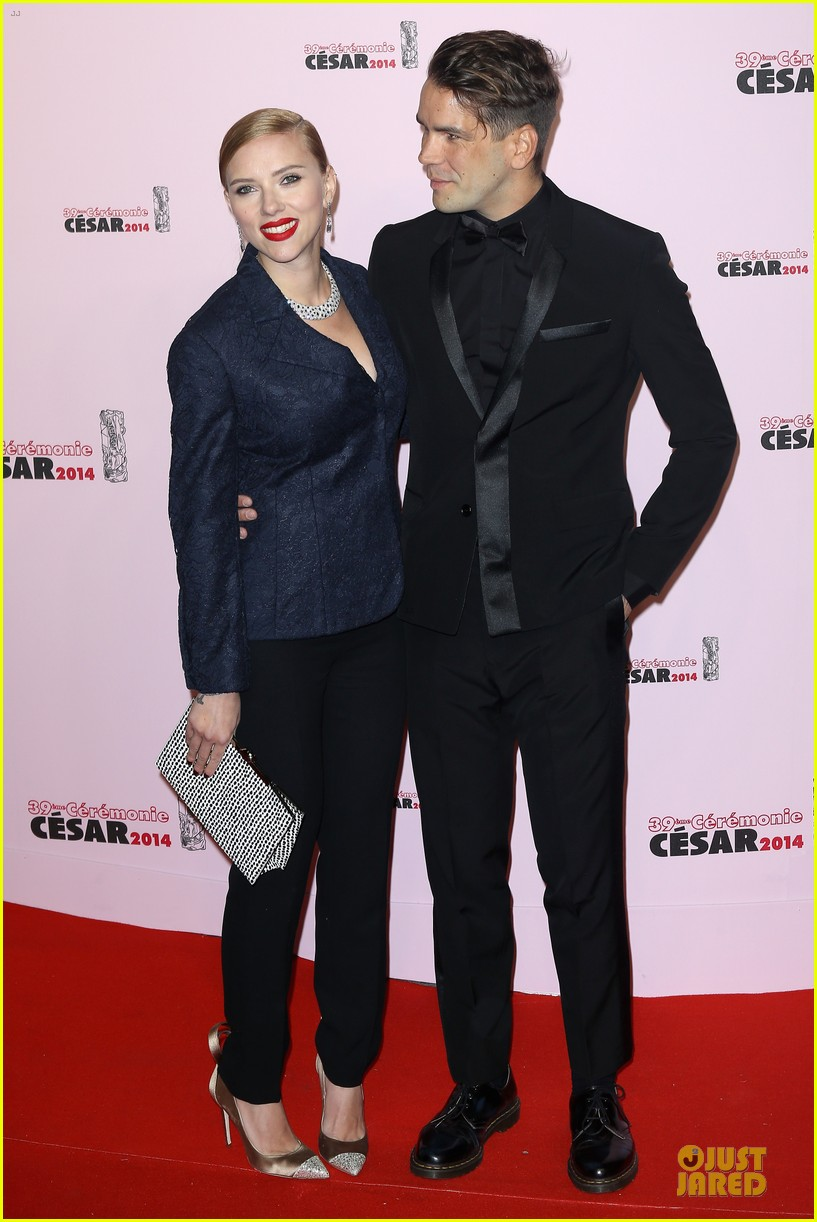 honoree scarlett johansson brings romaine dauriac for cesar awards 063062463
