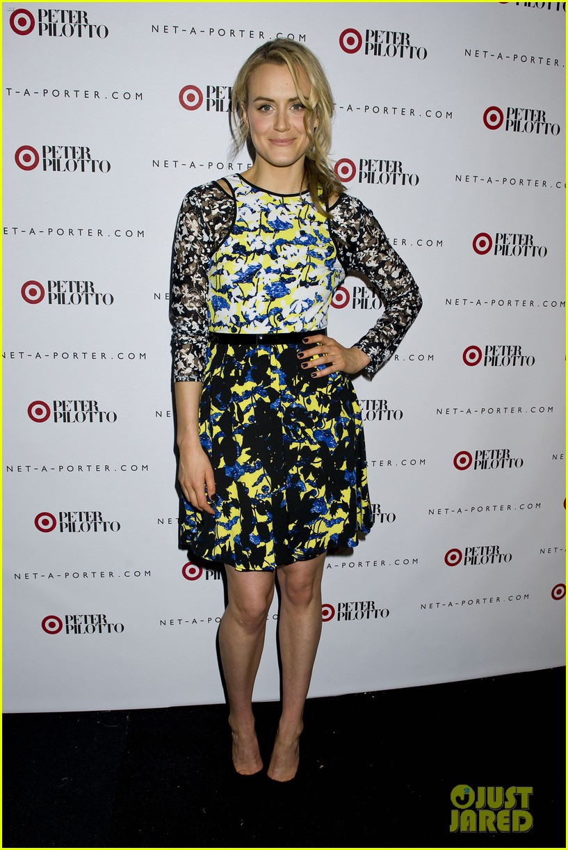 taylor schilling alexa chung peter pilotto for target event 063048837