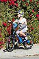 liev schreiber bares hot shirtless bod for family bike ride 21