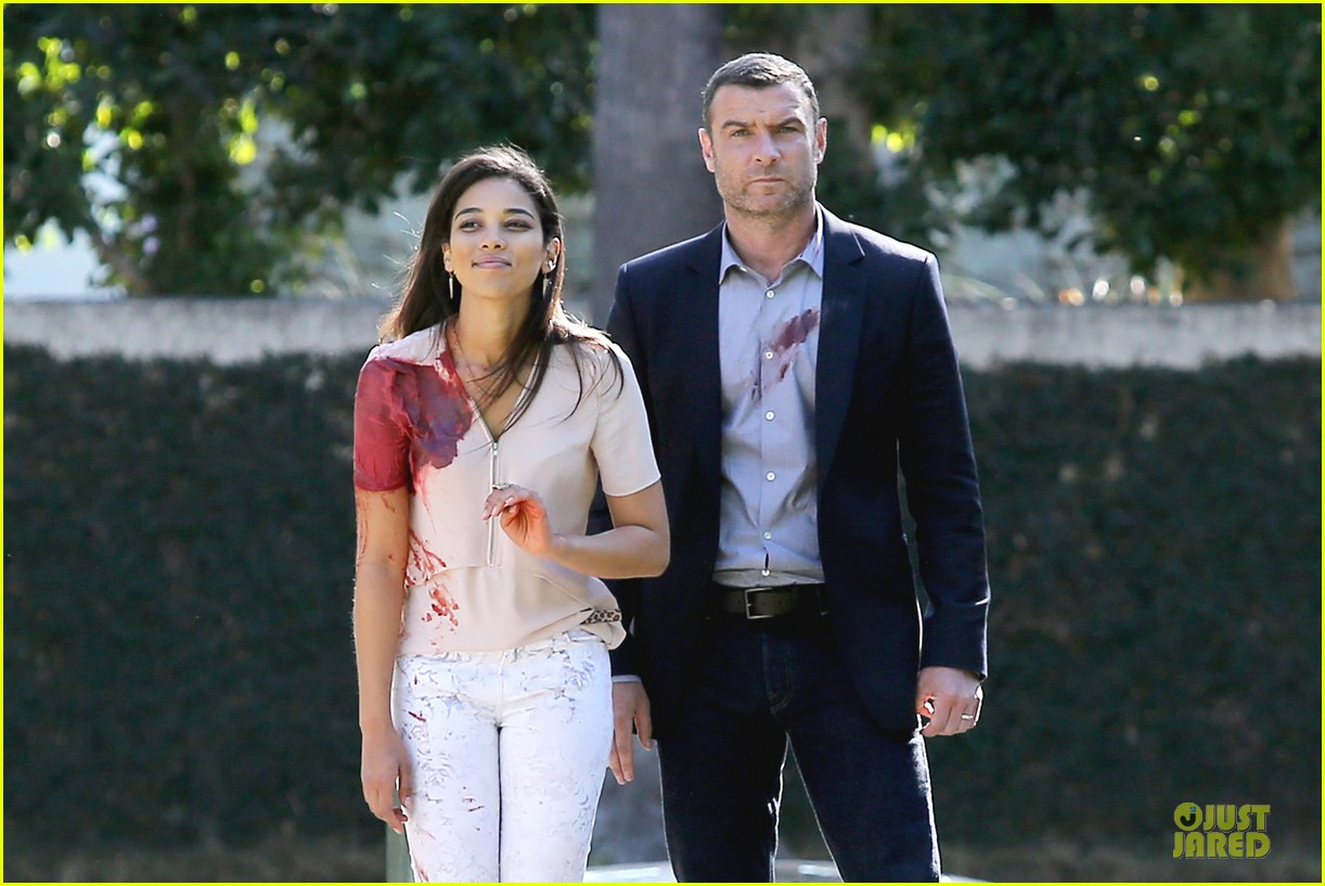 liev schreiber sports fake blood for ray donovan 063047187