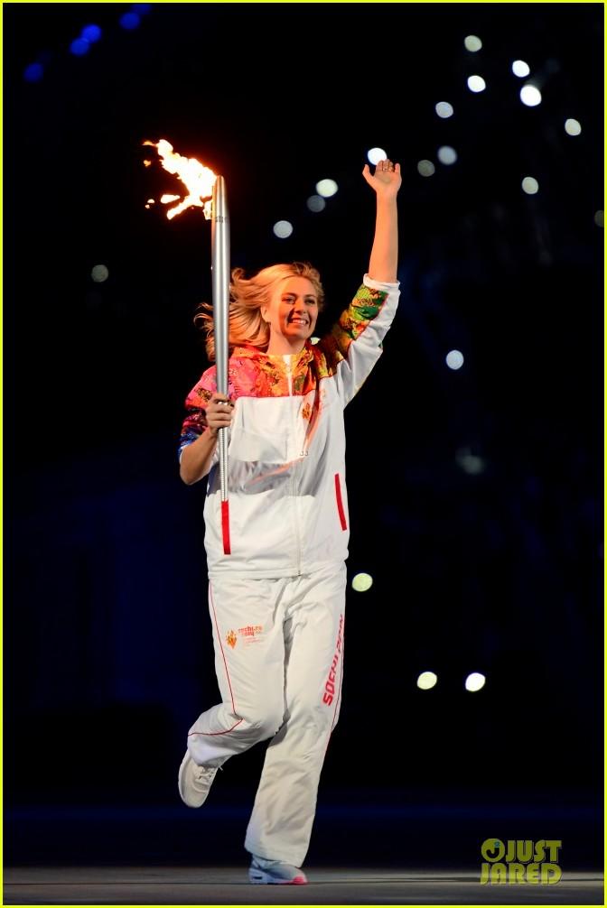 maria sharapova irina shayk sochi olympics 2014 opening ceremony 183049570