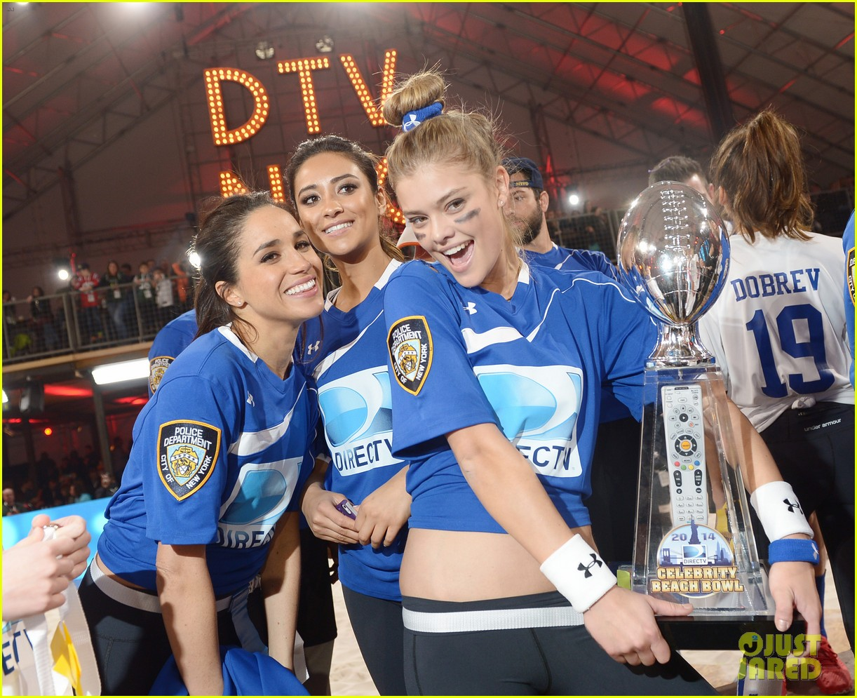 shay mitchell ireland baldwin directv beach bowl girls 053045672