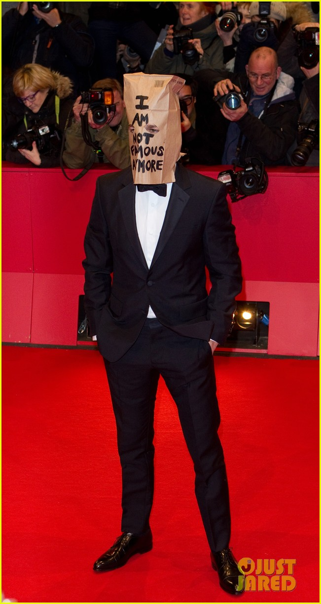shia labeouf wears paper bag over his head for nymphomaniac berlin premiere 013050229