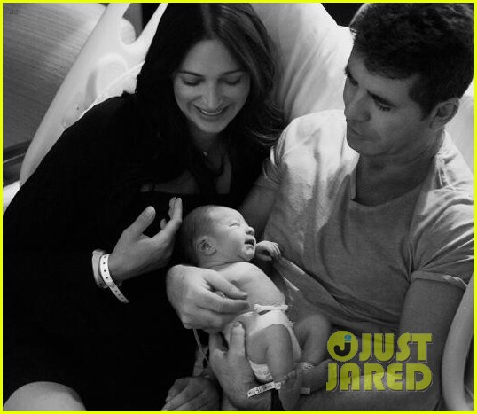 simon cowell shares cute photos of newborn baby eric 01