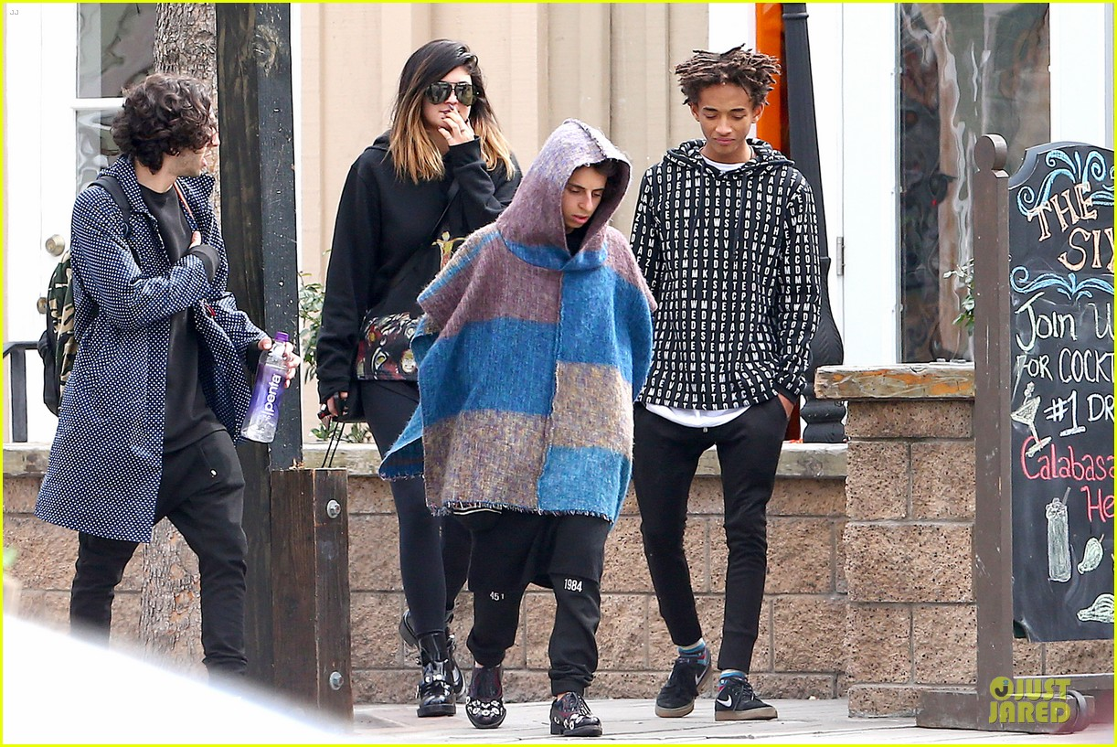 jaden smith kylie jenner express love for each other on twitter 113049941