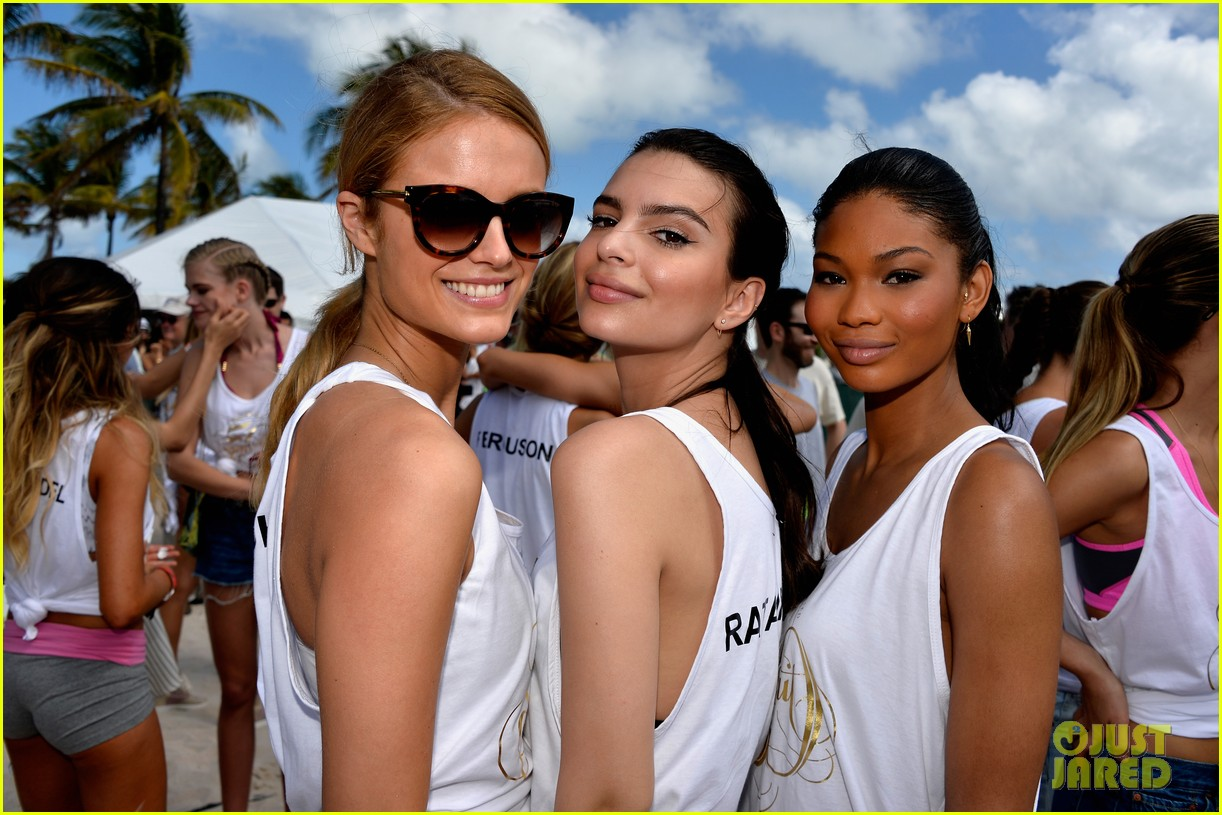 sports illustrated swimsuit models beach volleyball in miami 173057438