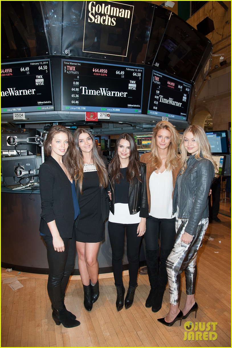 sports illustrated swimsuit models ring stock exchange bell 053053076