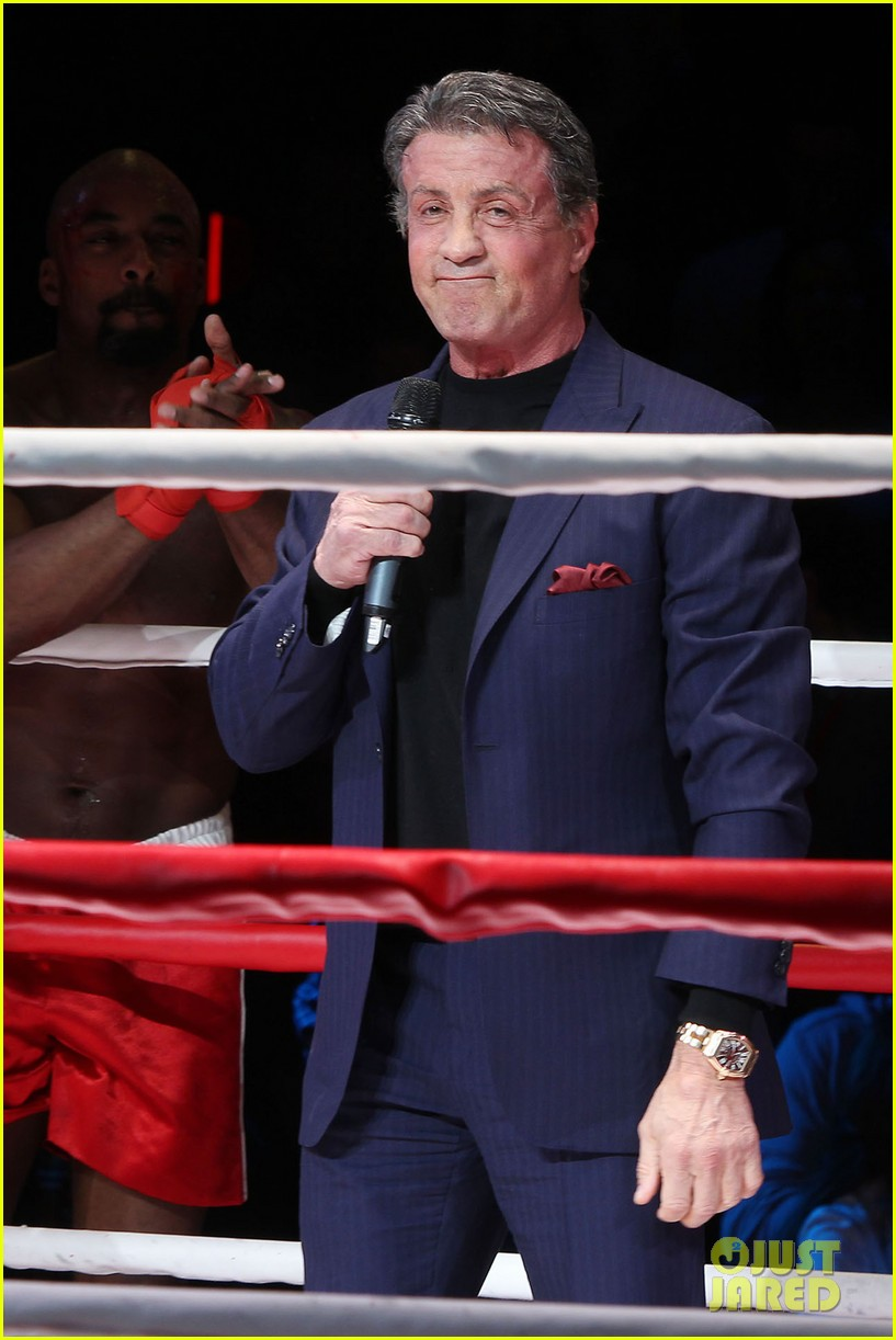 sylvester stallone helps launch rocky on broadway 073053184