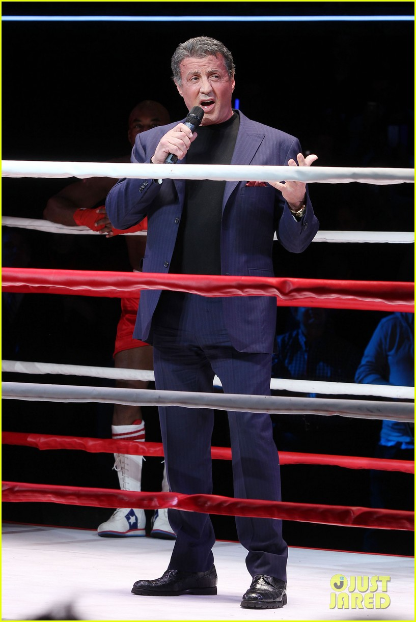 sylvester stallone helps launch rocky on broadway 103053187