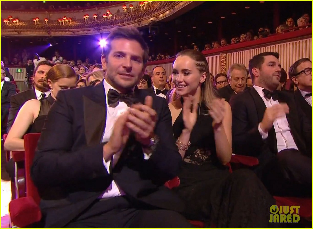 bradley cooper baftas 2014 with girlfriend suki waterhouse 053054880