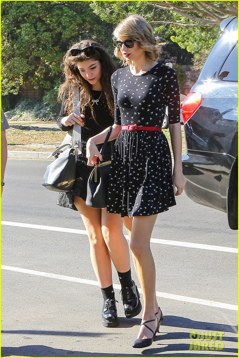 taylor swift lorde hang out spend weekend together 033059354