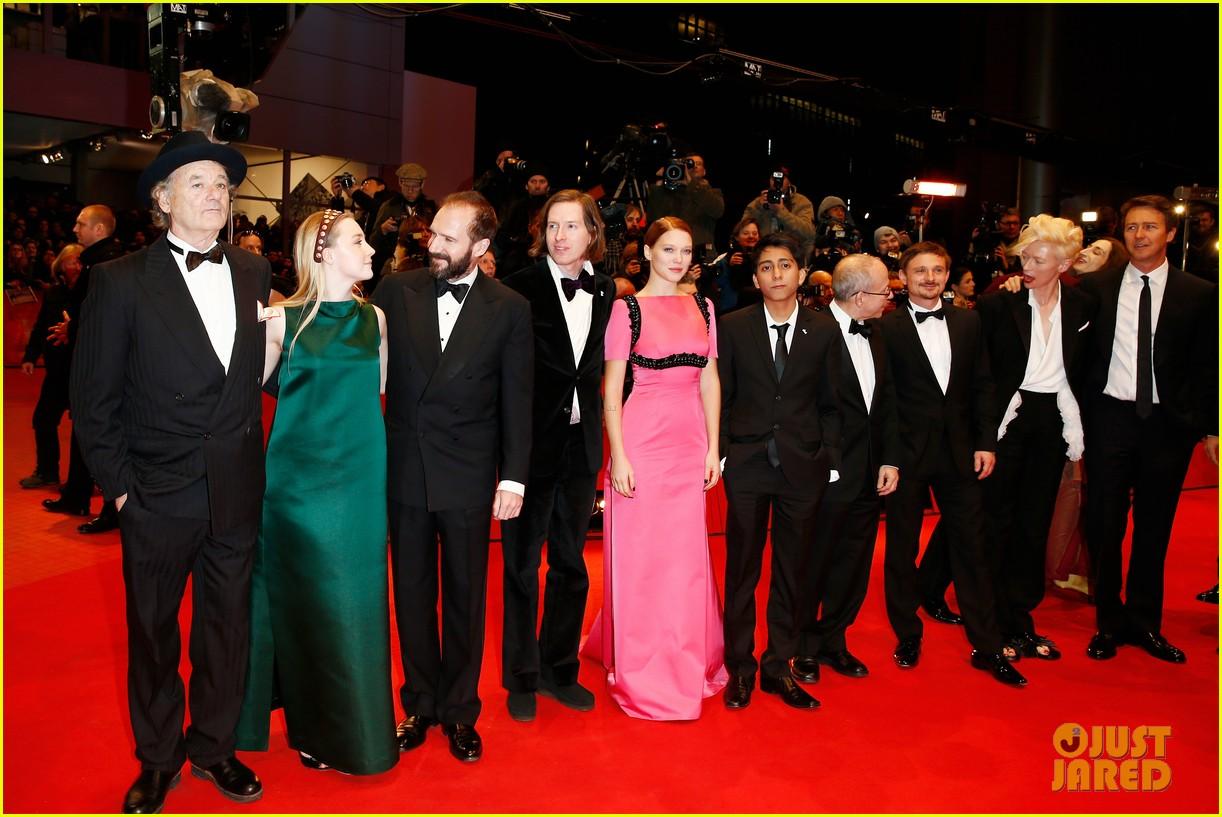 tilda swinton saoirse ronan grand budapest hotel premiere at berlinale 033048636