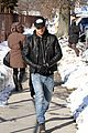 justin theroux films the leftovers on jennifer aniston 45th birthday 11