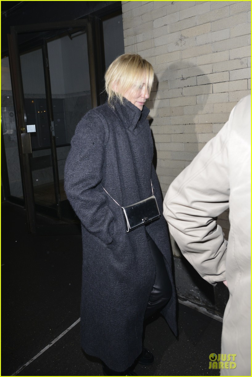 justin theroux cate blanchett visit mimi odonnell after philip seymour hoffman death 10