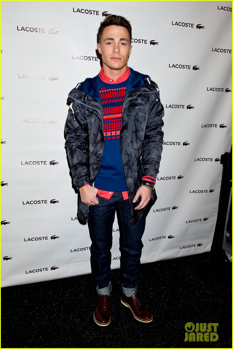 bella thorne colton haynes lacoste fashion show 013049742