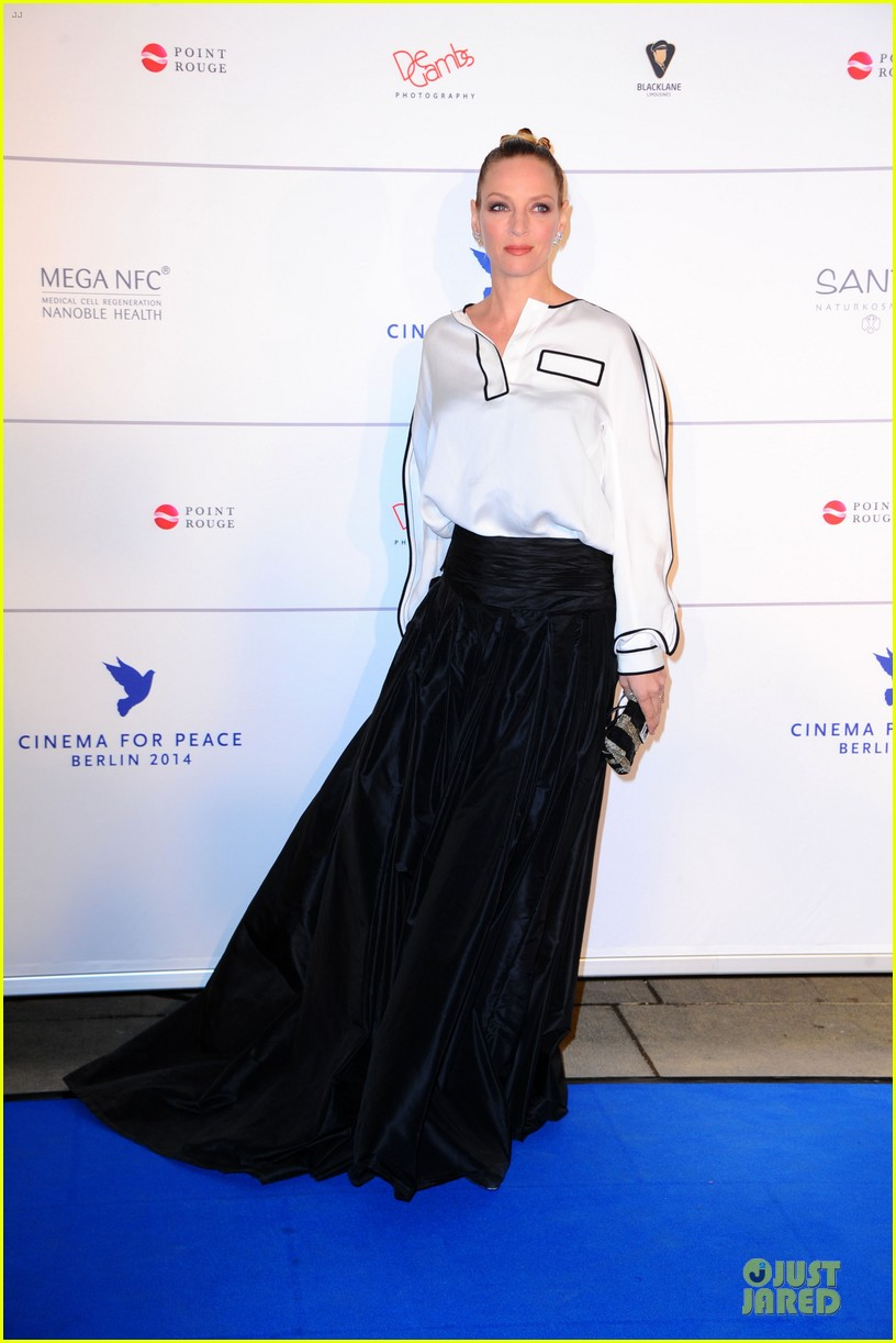 uma thurman difference maker at cinema for peace gala 093050905