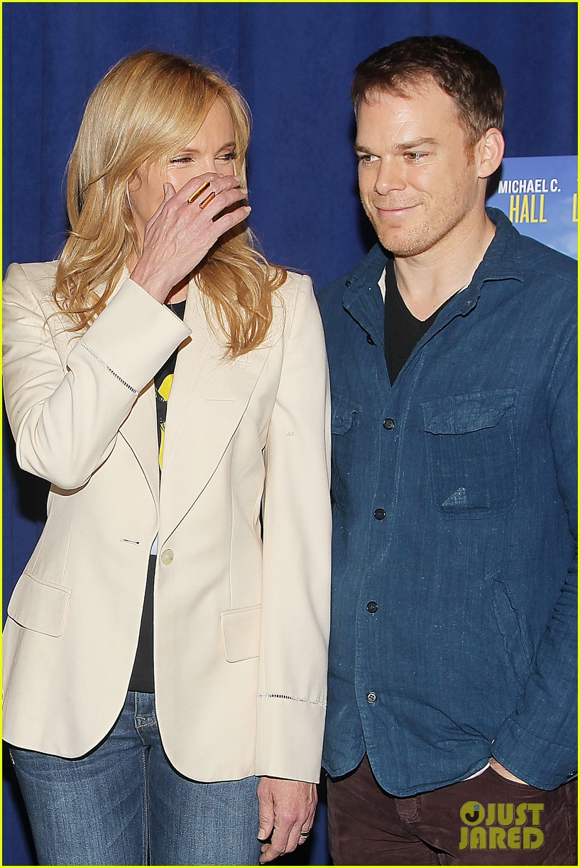 toni collette michael c hall realistic joneses photo call 16