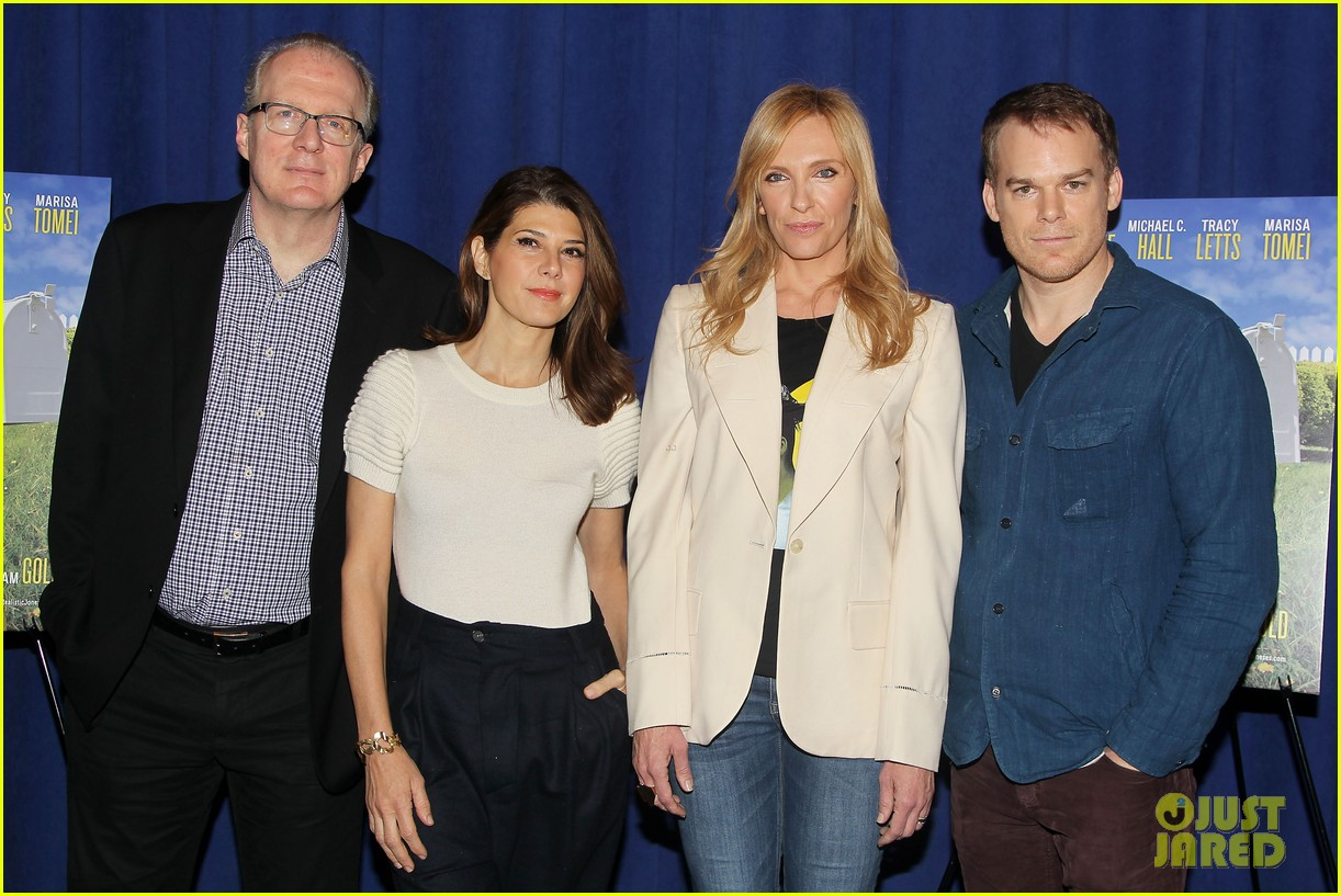 toni collette michael c hall realistic joneses photo call 203057188