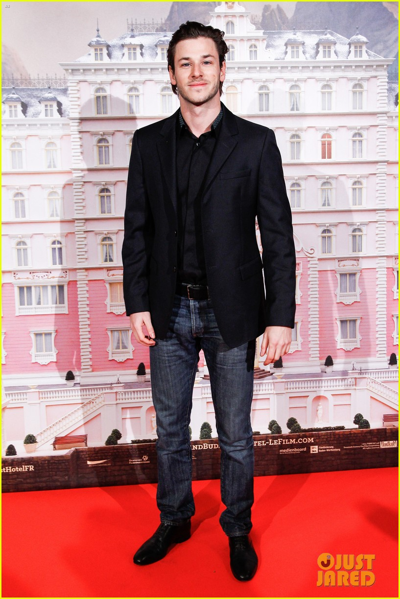 gaspard ulliel lends support at grand budapest hotel premiere 013057452