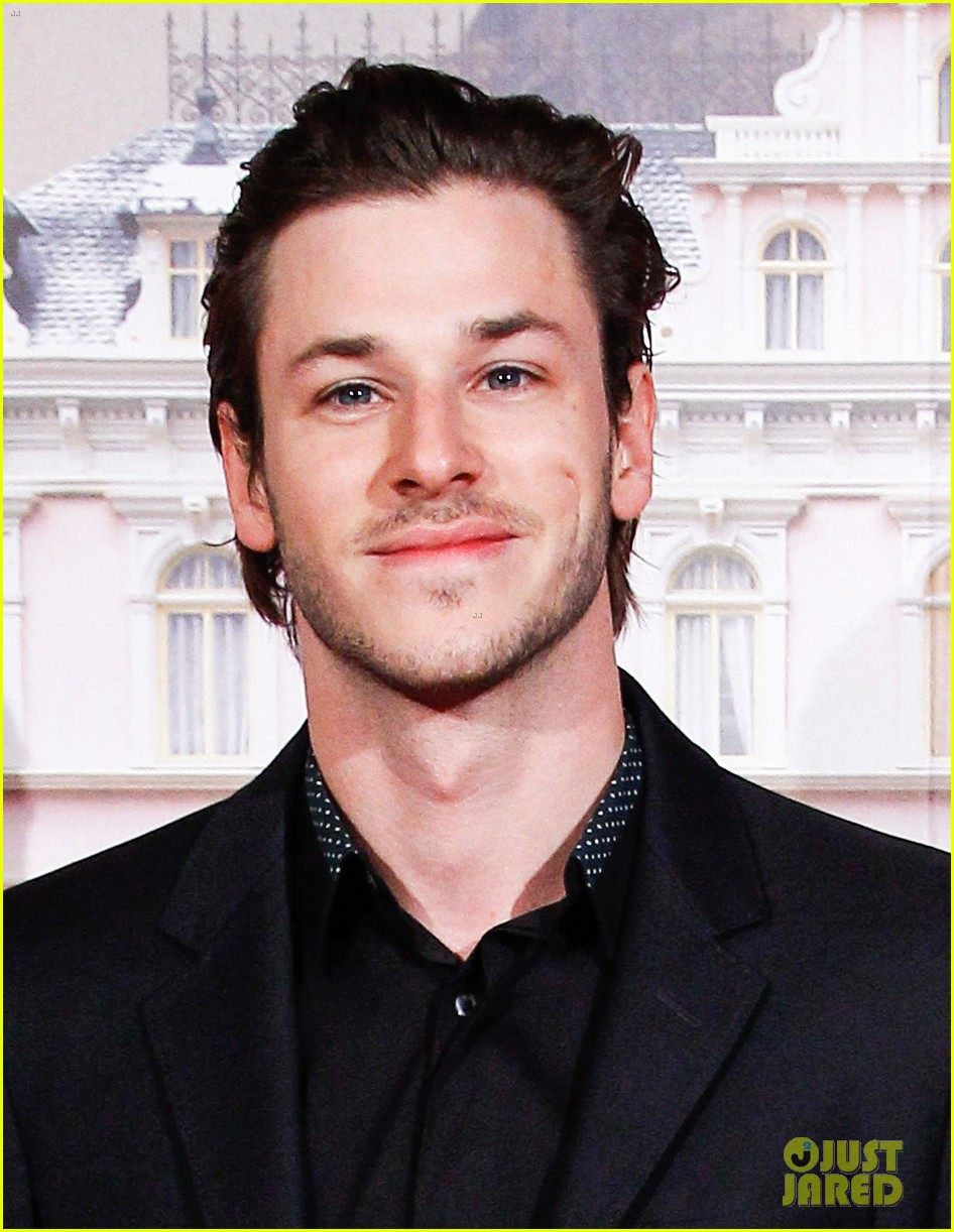 gaspard ulliel lends support at grand budapest hotel premiere 043057455
